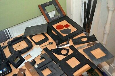 Job lot of Darkroom Masks / frames and other tools - see the photos