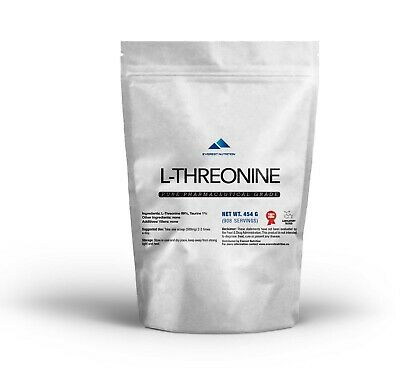 L-Threonine 100% Pure De Poudre De Qualite Pharmaceutique Pure