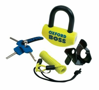 Oxford Boss Ultra Strong Motorcycle Disc Lock 12.7mm