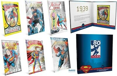 2018 Superman Silver 6 Note Collection