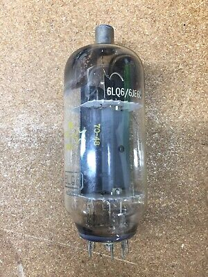 Used tested good 6LQ6/6JE6C tube