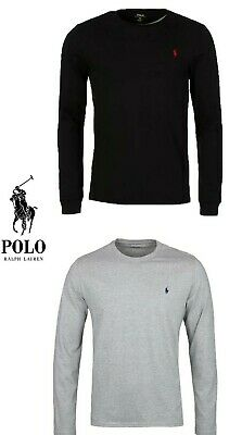 Ralph Lauren Men's Crew Neck Long Sleeve T-Shirt New