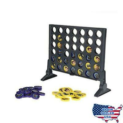 Connect 4 Game: Black Panther Edition, New, Free Ship