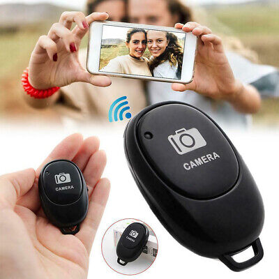 Wireless Bluetooth Remote Shutter Button For Selfie Timer Video Recording Tool