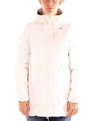 Kway giacca bianca Sophie Thermo Plus per donna, materiale impermeabile e antive