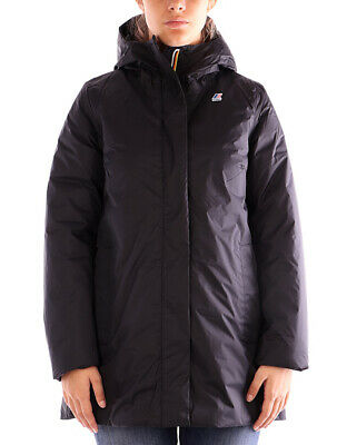 Kway giacca nera Sophie Thermo Plus per donna, materiale impermeabile e antivent