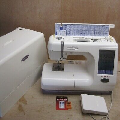 Janome MC10000 Memory Craft Sewing Machine Embroidery Quilting