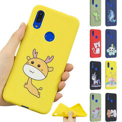 Lovely Soft Shockproof Case Cover forFor Xiaomi Redmi Note 7 6 5 Relief TPU Cute
