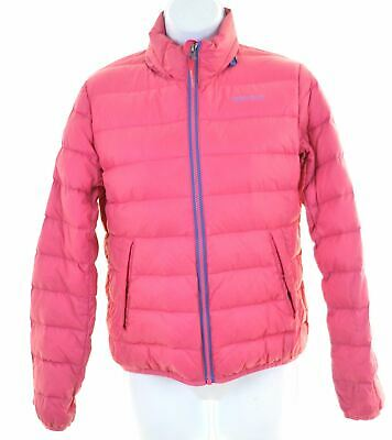WOOLRICH Girls Padded Jacket 11-12 Years Pink Nylon  IN08