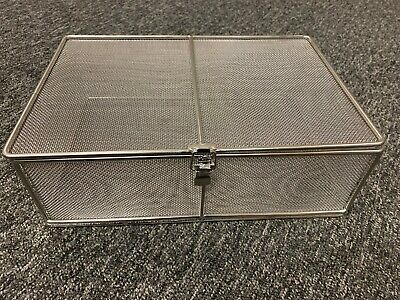 Autoclave Basket Stainless Steel 300mm x 200mm x 100mm