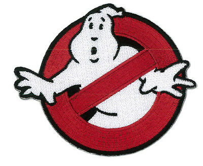 VELCRO® BRAND Hook Fastener No Ghost Ghostbusters Venkman Cosplay Patch