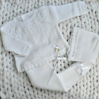 Baby Boy Girl Spanish Knitted Set Outfit