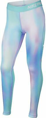 Nike Pro Warm Girl's Dri-Fit Printed Tights Youth Size XL X-Large 940287-477