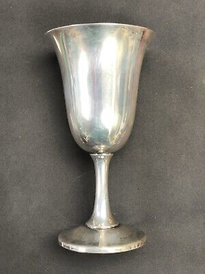 Wallace Antique Sterling Silver Wine Goblet NO MONOGRAM *FREE SHIPPING*