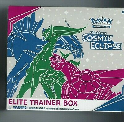 Pokemon Tcg Sun & Moon Cosmic Eclipse Elite Trainer Box - Sealed!