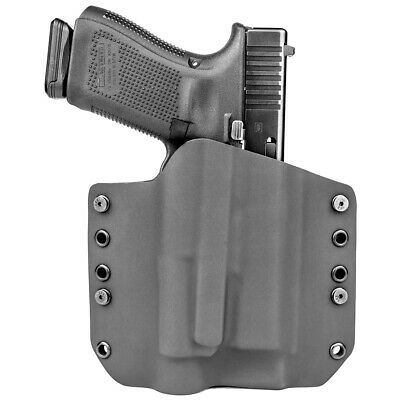 OWB Kydex Light Bearing Holster for OLIGHT PL-2RL BALDR - Black