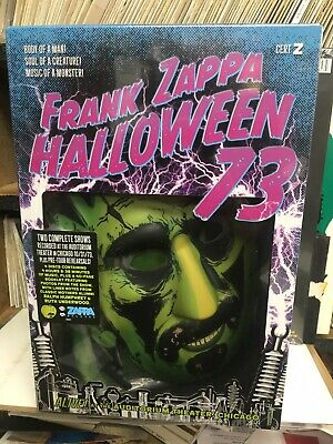 FRANK ZAPPA - HALLOWEEN '73 : NEW 4-CD BOX SET + MASK (Rel Oct 25 2019) LIVE CDs
