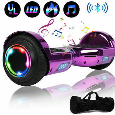 """6.5"""" Hoverboard Bluetooth HOVSCO Electric Self Balance Scooter with Bag UL"""