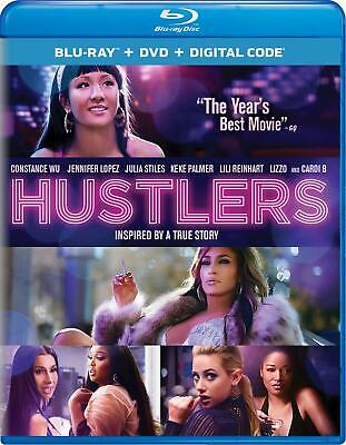 Hustlers - Blu-Ray (2019) ONLY with case/artwork - Jennifer Lopez-FREE SHIPPING