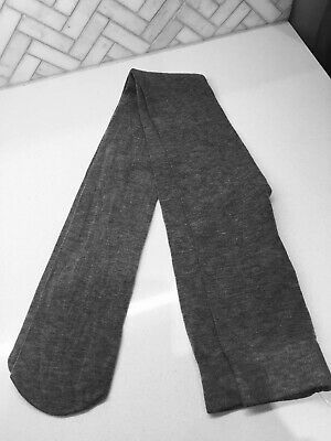 ***NEW NEXT Girls Tights Grey 11-12 Years / 152cm Worm One