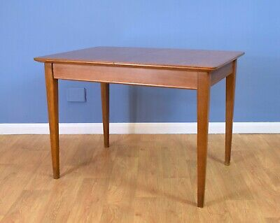 Mid Century Retro Gordon Russell Extending Dining Table for Heals in Walnut 60s