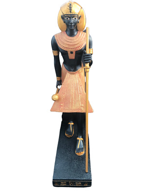 """Veronese Myths and Legends King Tut Tomb Guardian Statue 8.5"""" tall RARE NOS"""