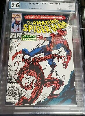 The Amazing Spider-Man #361 #362 Infinity Gauntlet PGX 9.6