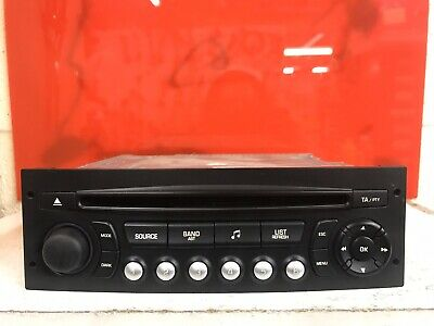 Citroen Peugeot Car Radio Stereo Cd Mp3 Player Rd4 N1m-03 Head Unit  Decoded