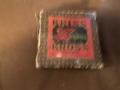 VTG KRISS KROSS STROPPER  Razor Blade Sharpener IN Original Box Works