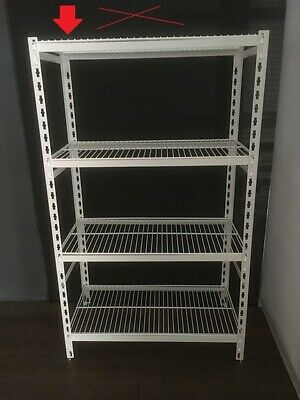 Coolroom Coldroom Shelving Powder Coated Post Wire Shelves 1350H x 300W