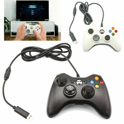 Wired Game USB Controller Gamepad Joystick for Microsoft 360 /PC Windows 10 98