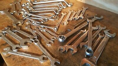 Vintage Britool King Dick British quality spanner large lot