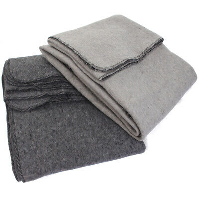 Original Army Wool Blanket - Surplus Blankets for Camping and Other Emergencies