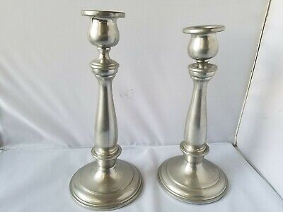 Colonial Pewter By Boardman Candlesticks Holders Vintage # 261 Home Decor