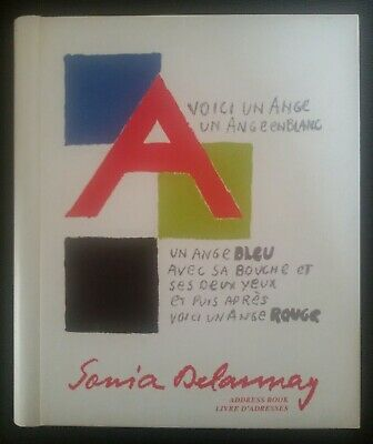 Sonia Delaunay Address Book, Published by Flammarion, 1993