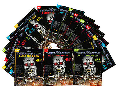 Hachette BUILD THE TERMINATOR T800 Partworks Megazine Issues 1-65