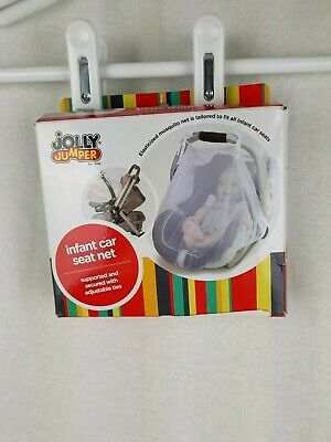 Jolly Jumper Infant Car Seat Polyester Mosquito Net
