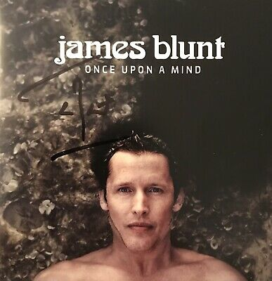 James Blunt HAND SIGNED Once Upon A Mind BRAND NEW CD Album *EXCLUSIVE* *COA*
