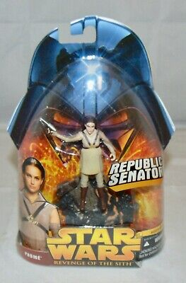 """New Hasbro Star Wars Revenge Of The Sith 3.75"""" Padme Action Figure Sealed #19"""