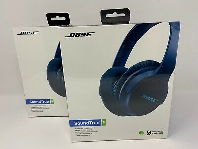 Factory Sealed Bose SoundTrue Around-Ear II Headphones Navy Blue New by Samsung