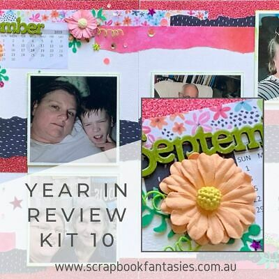 Year In Review 2019 - Kit 10 (Exclusive to Scrapbook Fantasies)