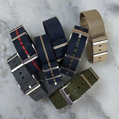 Premium French Nylon Tudor Style NATO Watch Strap 20mm/22mm