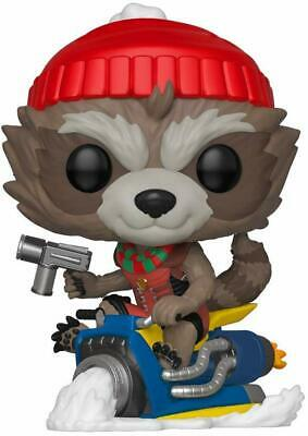 Funko Pop! Marvel: Holiday - Rocket Raccoon On Sled 531 43334 In stock