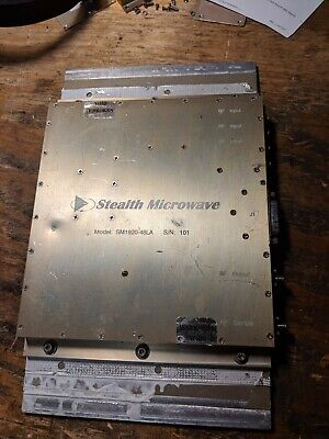 Stealth Microwave SM1920-48LA RF microwave power amplifier
