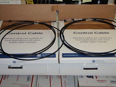 CONTROL CABLE 3300 SERIES CC23013 13FT UNIVERSAL OUTBOARD INBOARD SHIFT THROTTLE