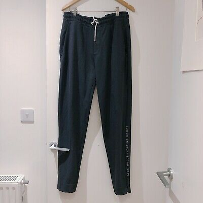 Navy All Sizes Jack Wills Hennerton Nylon Jogging Bottoms Pants