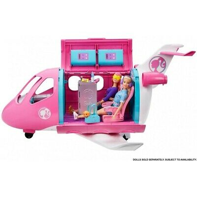 Barbie Dream Plane Playset Toy Pretend Play with Accessories Free Shipping