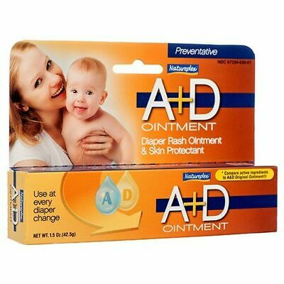 Natureplex A+D Diaper Rash Ointment & Skin Protectant 1.5 oz For Every Change