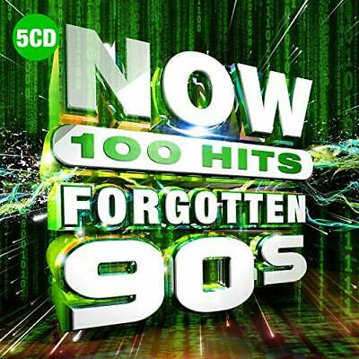 Various Artists-NOW 100 Hits Forgotten 90s CD NUOVO