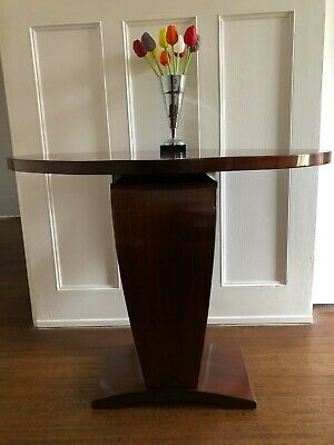 Original Art Deco ocassional or hall rosewood table